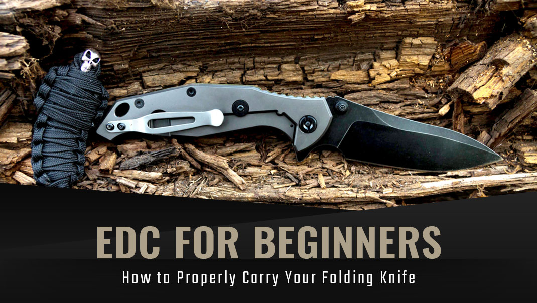 how to properly carry folding knife